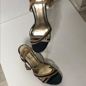 Tommy Hilfiger wedges /blue and beige sandals